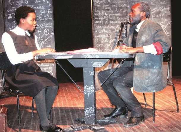 """Photo By Lukos Shikongo. """"The Lesson""""with Ndino Ndilula"""