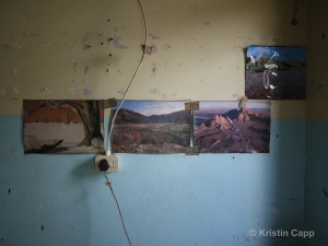 Blue Wall, 2014 by Kristin Capp
