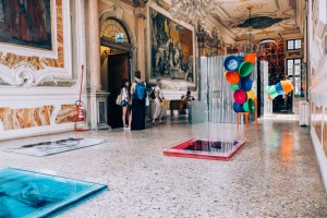 Exhibition view of 'On Ways of Travelling', Angolan Pavilion at Venice Biennale 2015. Courtesy of Rita GT